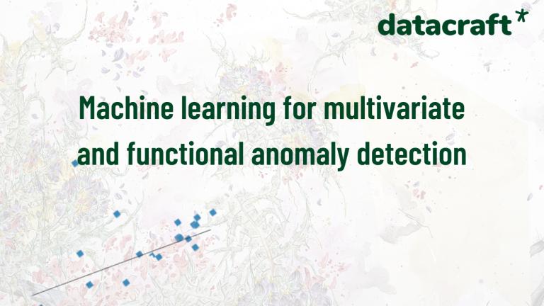 """Retrouvez la présentation """"Machine learning for anomaly detection"""""""